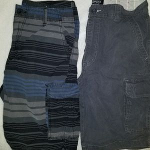 ~ TwO ~ Pairs of Men's Cargo Shorts